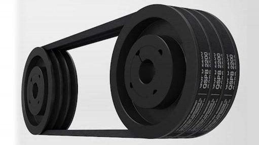 Robust wedge belts transmit 30% more power