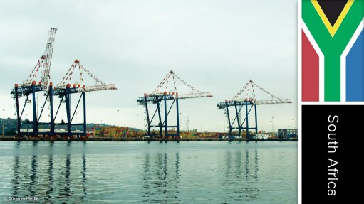 Durban port upgrade and expansion project, South Africa