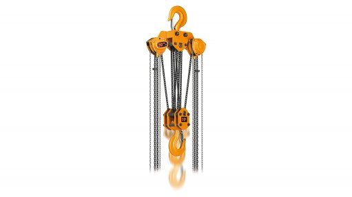 VERSATILE HOISTING These hoists, which offer swift lifting and lowering speeds for increased productivity, are designed to safely handle rated loads between 2.5 t and 50 t