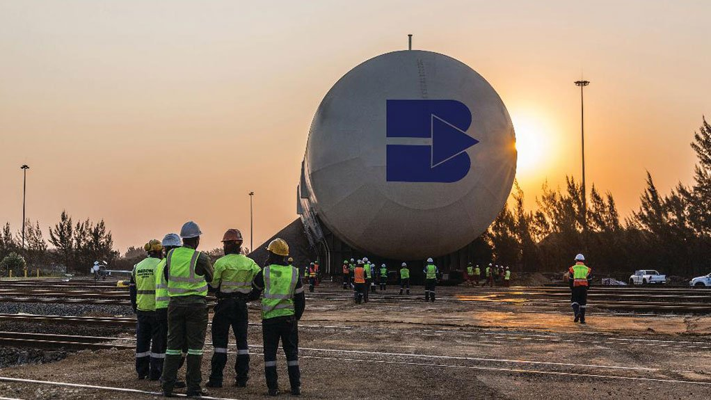BIG BOY Bidvest Tank Terminal's large-scale mounded LPG storage facility in Richards Bay was scheduled for completion this year