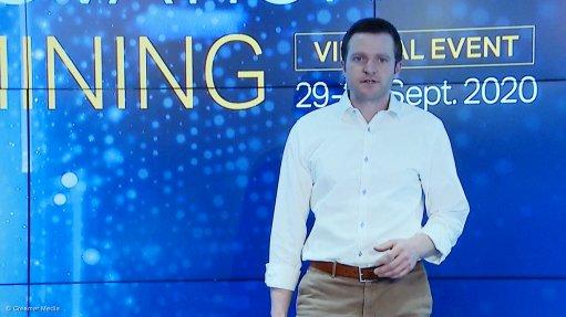 Sandvik global product line manager automation David Hallett