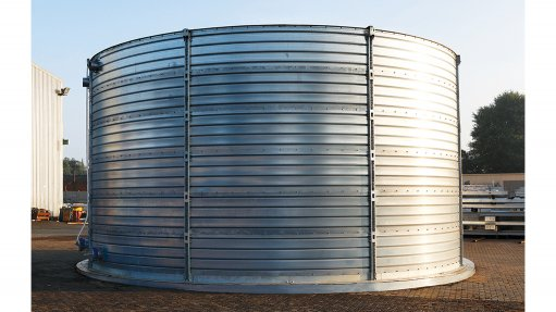 Easy-to-assemble water storage tanks launched