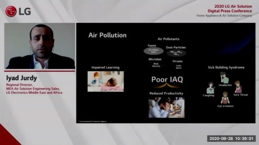 LG affirms commitment to providing quality air purification solutions for MEA region
