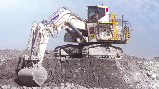Company supplies excavator to gold mine