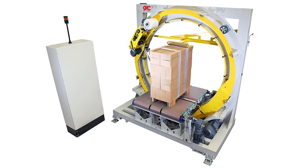 WRAPPING IT UP The OMC-V2000 machine is indicative of FROMM's innovative approach to ensuring the highest possible level of product protection and load securing