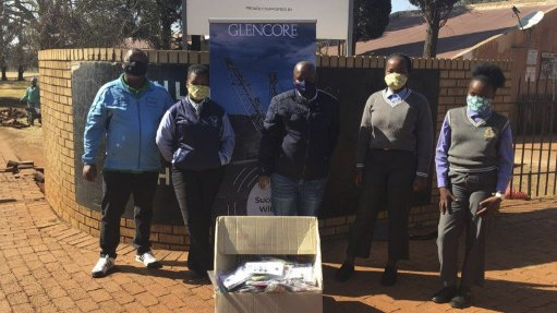 Glencore empowers local women's organisation in the fight against COVID-19