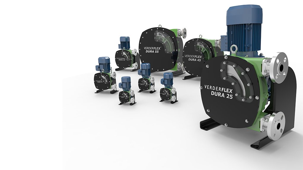 EASY ACCESS  The Dura range of peristaltic pumps use a one piece flange design for greater strength and integrity as well as an easy access hose change
