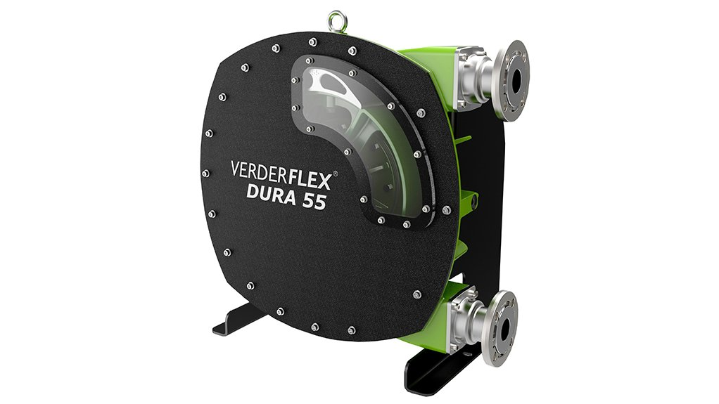LOW MAINTENANCE  The innovative peristaltic hose pump is highly compact and easy to maintain
