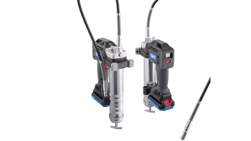 Battery-operated grease gun simplifies lubrication