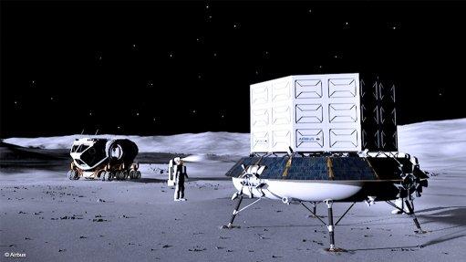 Airbus wins contract to help develop European lunar lander spacecraft