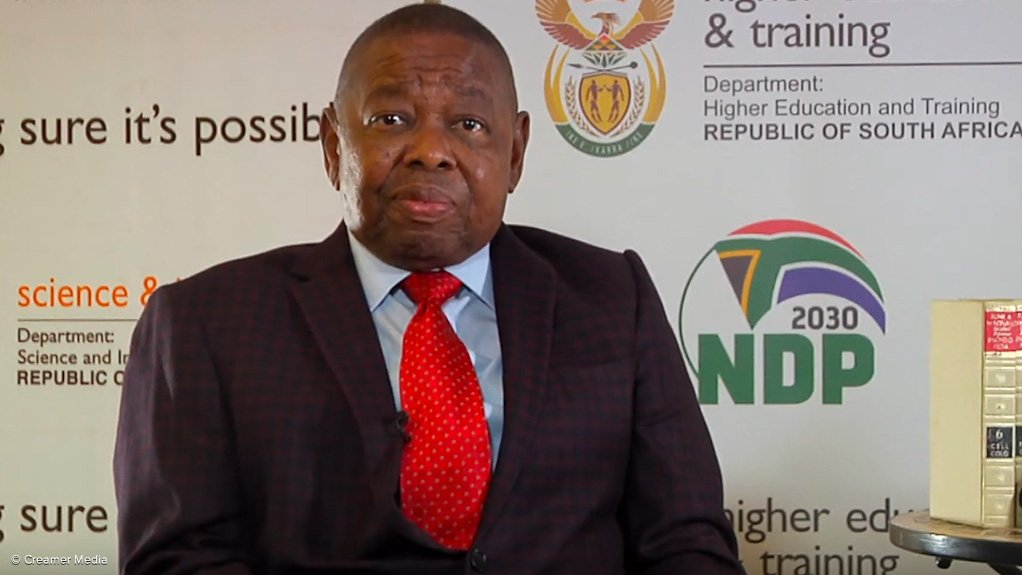 Higher Education, Science and Innovation Minister Dr Blade Nzimande