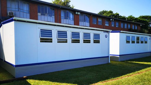 Covid-19 regulations up demand for Kwikspace mobile classrooms