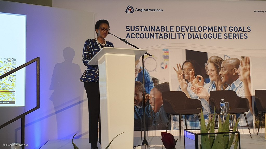NOLITHA FAKUDE The Minerals Council VP and Anglo American nonexecutive director chairs the Women in Mining Leadership Forum