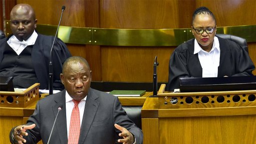 SA: Cyril Ramaphosa, Address by President, during the tabling of the SA reconstruction and recovery plan, Parliament (15/10/20)