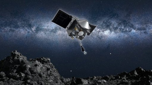 Nasa reports that one of its spacecraft has collected a sample from an ancient asteroid