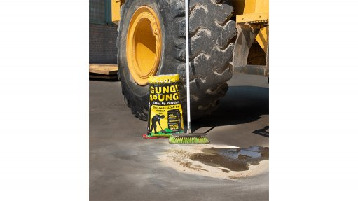 Powder a new solution for spills