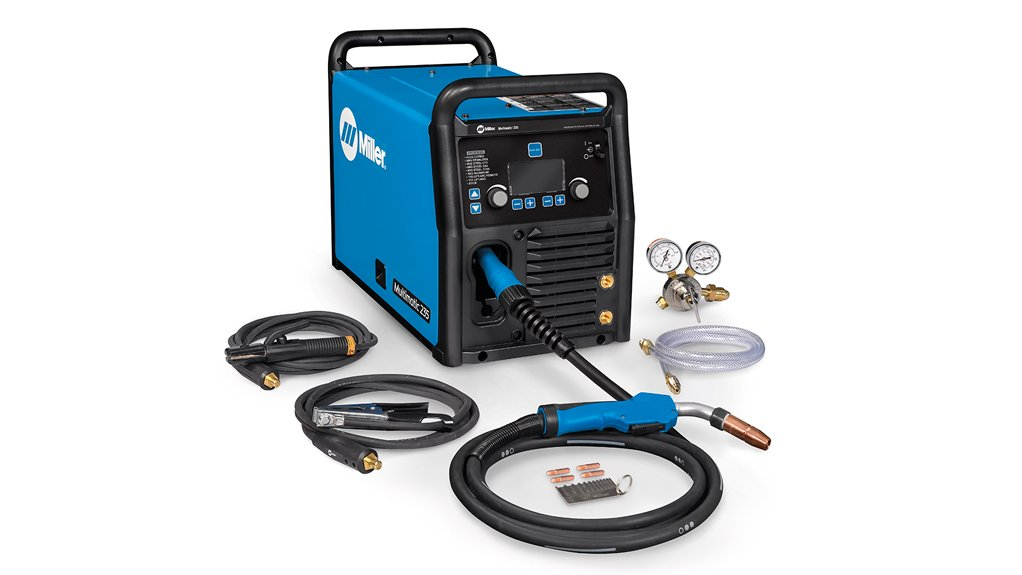 RANGE OF USES The new Multimatic 235 is ideal for manufacturing, maintenance, construction and general fabrication applications