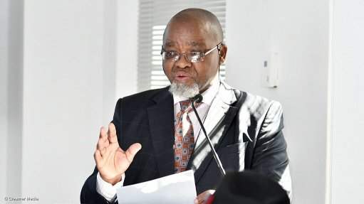 Mantashe reiterates energy sector efforts to complement economic recovery plan