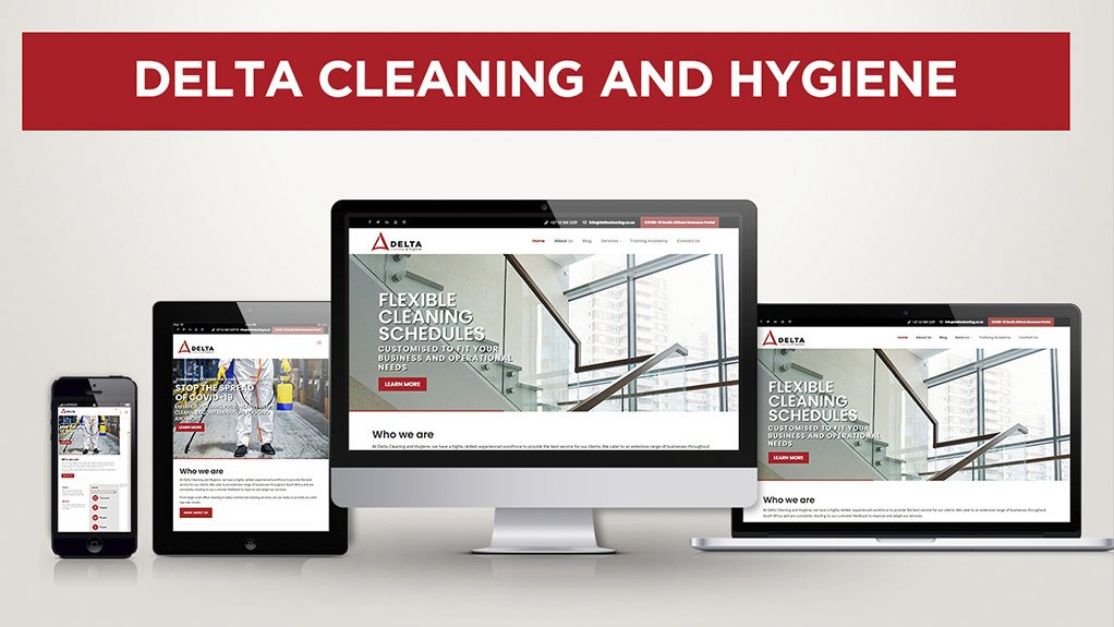 Delta cleaning and hygiene launches new website