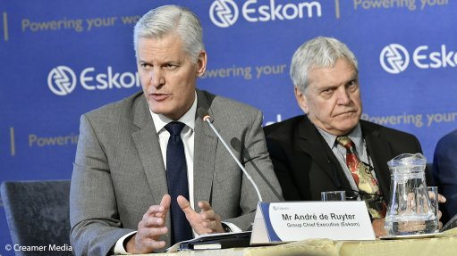 Procurement of 11.8 GW only the 'first step' in full elimination of load-shedding threat – De Ruyter