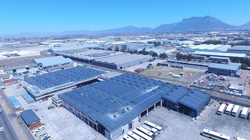 The solar farm at Golden Arrow