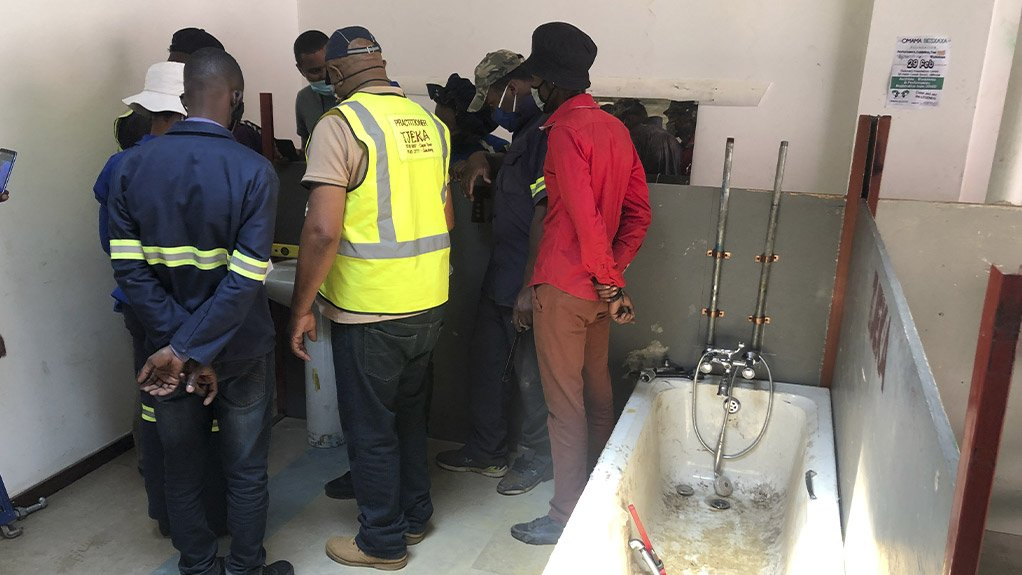 Twelve people recently completed a plumbing course offered by Outreach Foundation.