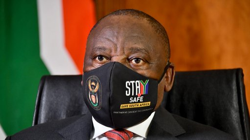 Ramaphosa in self-quarantine, not showing Covid-19 symptoms