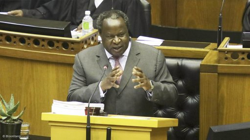 Mboweni unveils less steep path to consolidation while continuing to raise debt-crisis alarm