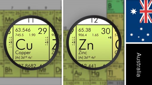 Sulphur Springs zinc/copper project, Australia