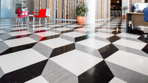 Flooring specification advice at the touch of a button