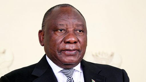 Ramaphosa addresses South Africa infrastructure roundtable