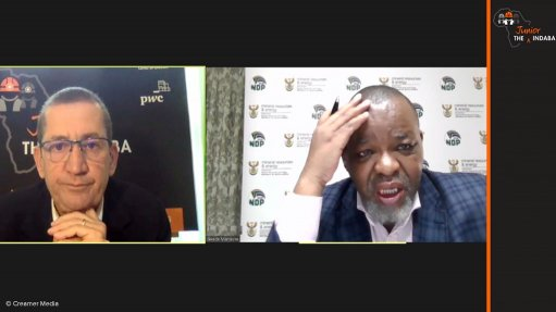 Exploration is priority, says Mineral Resources Minister Gwede Mantashe