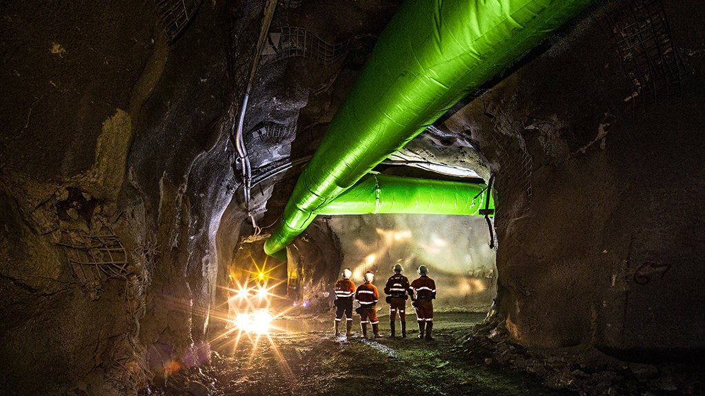 COOLER CONDITIONS Bulk air coolers reduce the working temperatures inside a mine, consequently enabling mineworkers to operate in better conditions and allowing for improved efficiencies