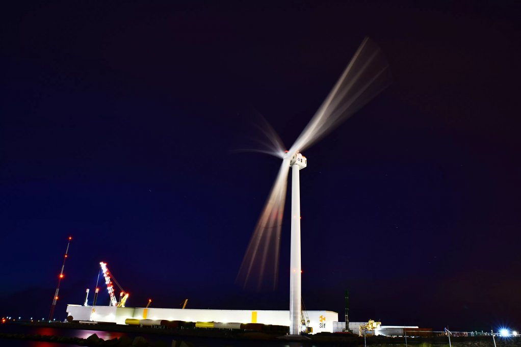 TOP GENERATING The Haliade-X prototype has been optimised and is now operating at a 13 MW power output