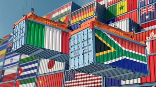 S African-Italian trade dips but remains adequate
