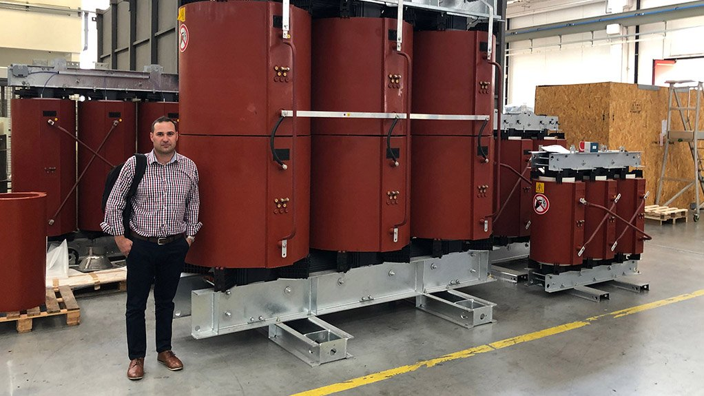 DAVID CLAASSEN Dry-type transformer technology is safer and requires less maintenance