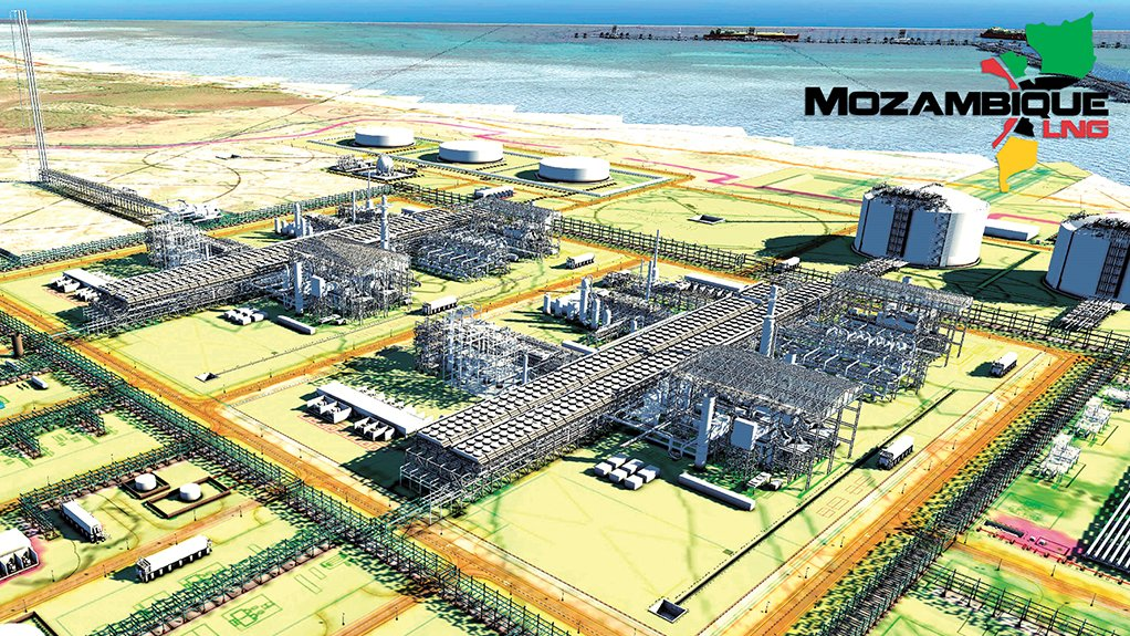 PLANS RENDERED REAL Next year will see a shift in focus from the construction of enabling infrastructure to the development of the Mozambique LNG facility