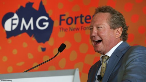 Fortescue plans global green energy drive