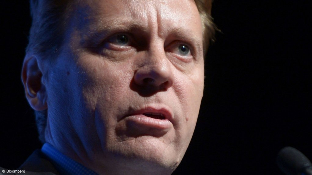CEO Tom Palmer says Newmont is taking its climate change commitments seriously.