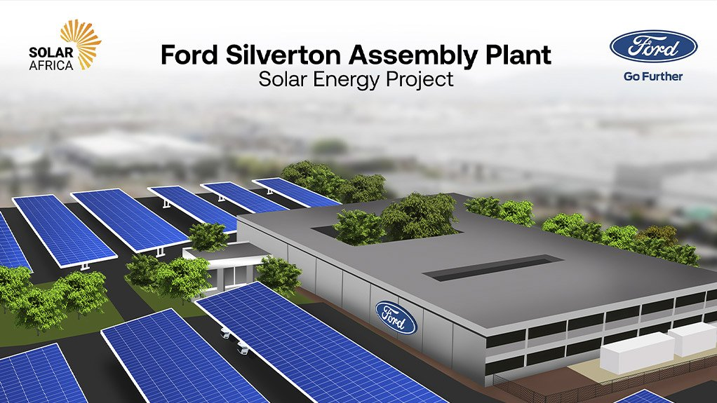 Solar roll-out at Ford start of project to be 100% energy self-sufficient by 2024