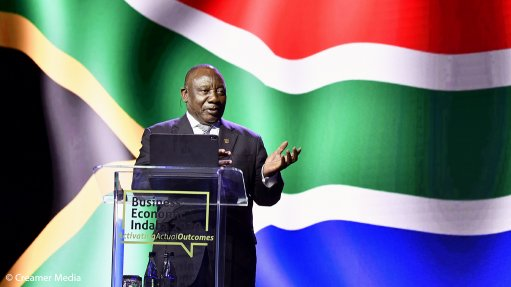 Ramaphosa stresses South Africa's gateway-to-Africa role as he seeks to reignite investment amid Covid