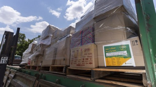 Engen brings drought and fire relief to farmers