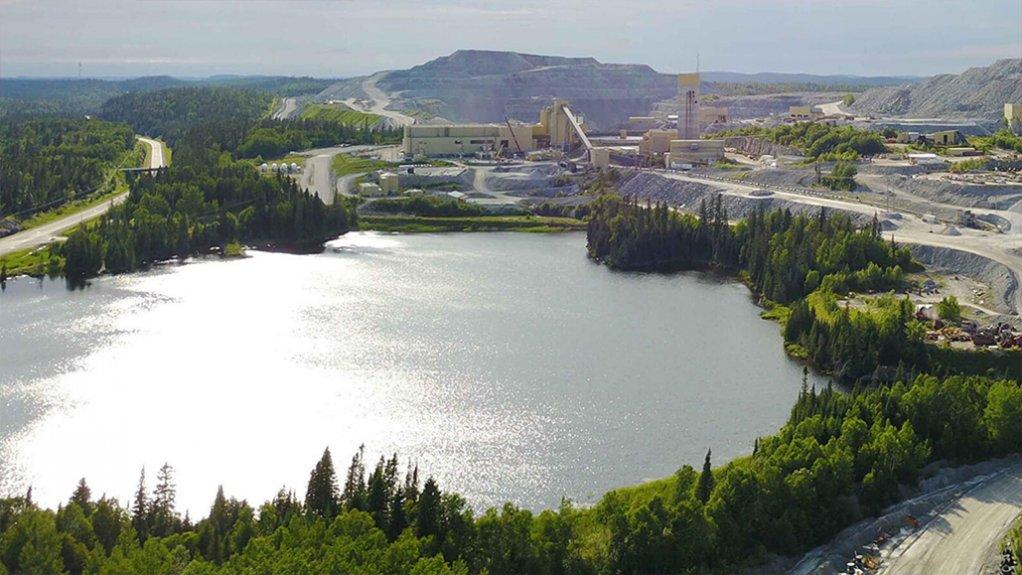 Barrick's Hemlo mine, in Ontario