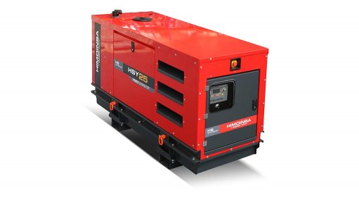 Genset range equipped with built-in automatic transfer switch panel