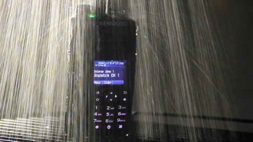 Resisting dust and water with Kenwood two-way radios from Global Communications