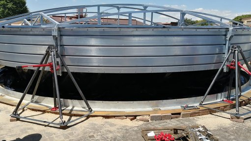 Structa Technology launches easy-to-assemble water storage tanks