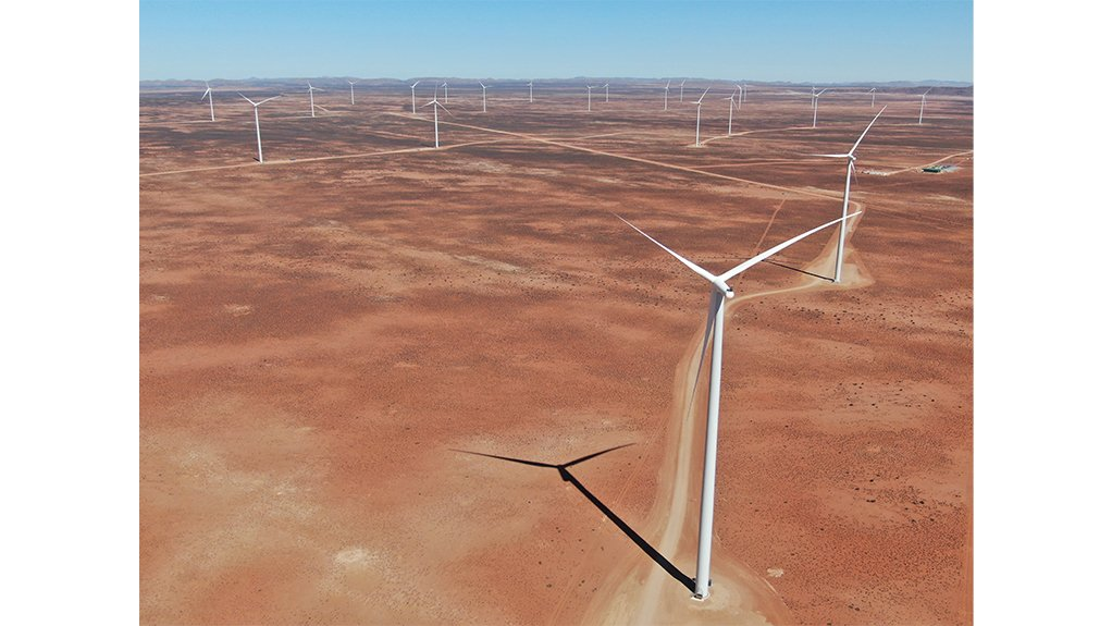 KANGAS WIND FARM  The first bid window four wind farm, in the Northern Cape, to come on stream as part of government's Renewable Energy Independent Power Producer Procurement Programme