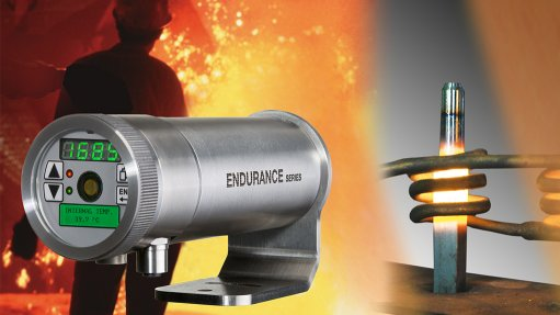High temperature ratio pyrometers withstand harsh industrial environments