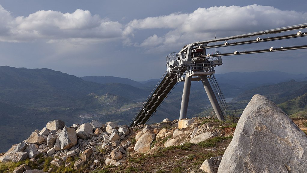 IN TOTAL ORE For the expansion of the Booysendal mine, Booysendal Platinum opted for a RopeCon system to tackle the challenge of transporting 909 t/h of platinum ore