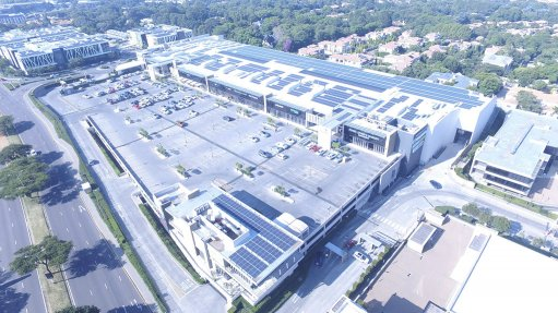 Nicolway Mall goes sustainable, installs a solar plant on the roof
